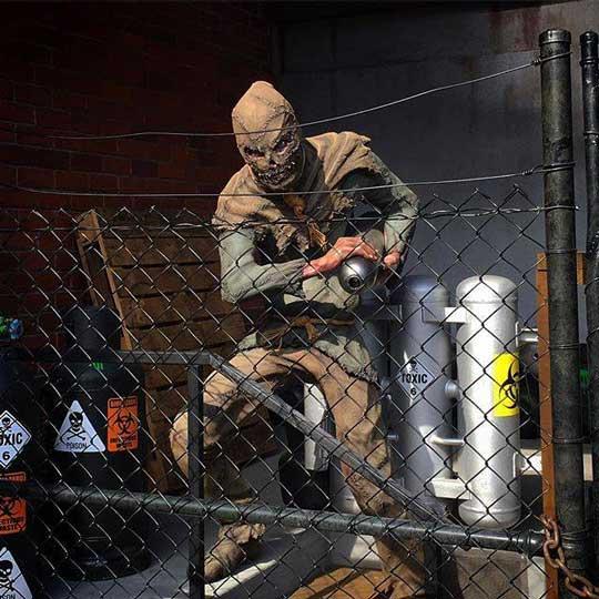 : Scarecrow at Movie World Australia. Source: Warner Bros. Movie World, Gold Coast, Australia Facebook