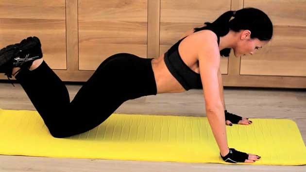 knee pushups