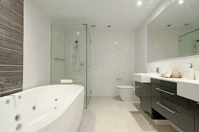 Modern bathroom design 1