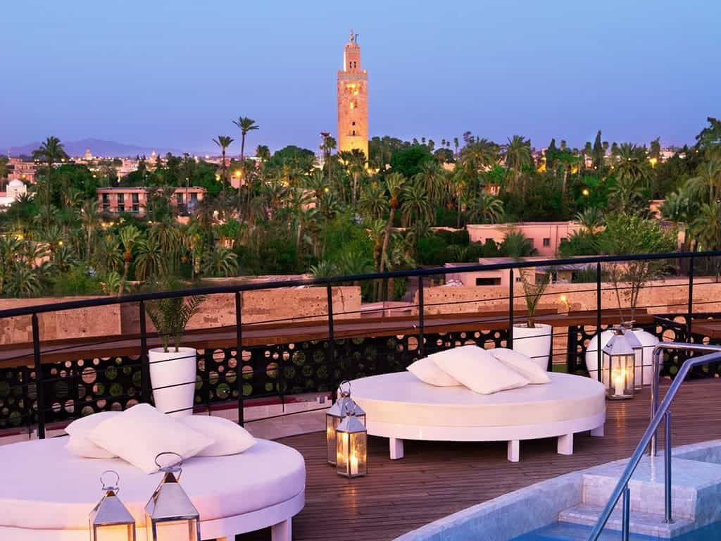 Romantic places in Morocco