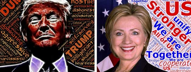 In the recent U. S. Presidential Election, all credible polls pointed to a Hillary Clinton victory.