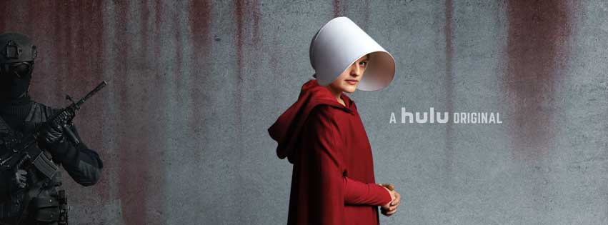 the handmaids tale promotional banner