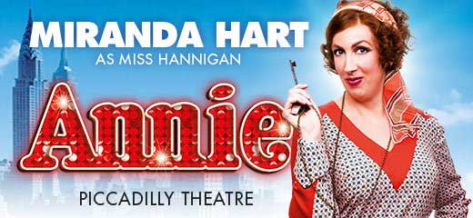 Annie Piccadilly Theatre London