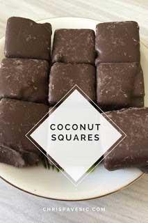 13 A Chocolate Coconut Squares
