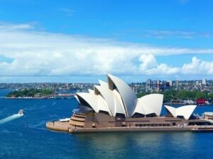 Touchdown destination – Sydney