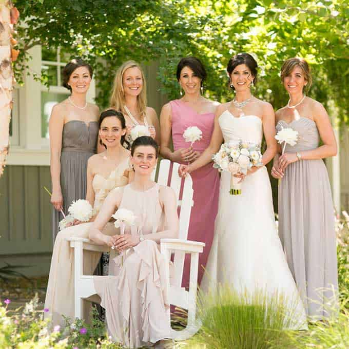 3a2d10d092a 3 Great Ways to Pull-off Mismatched Bridesmaid Dresses - Divine Magazine