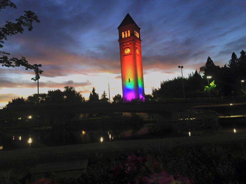 Pride Clock Tower CREDIT BLAINE STUM7