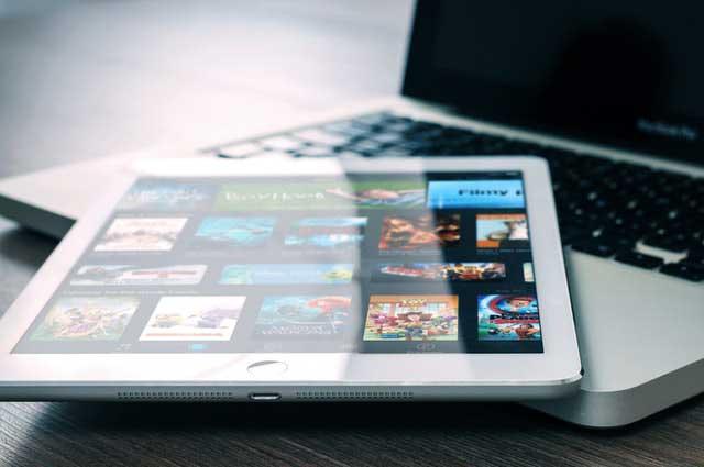 app entertainment ipad mockup 265685