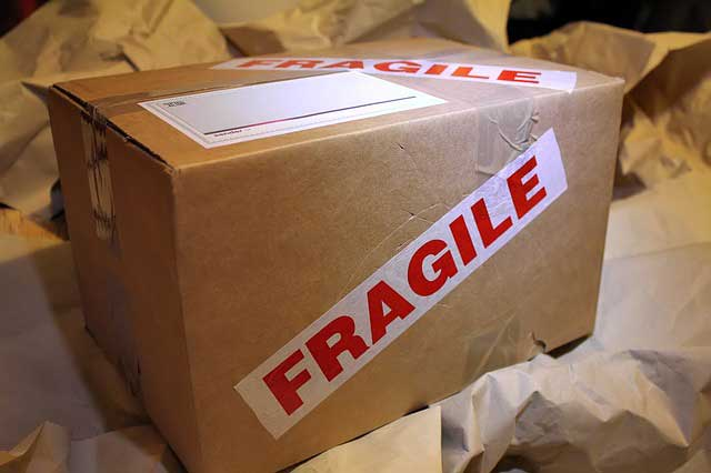 Keep your fragile items safe during the move by keeping them in a storage unit.