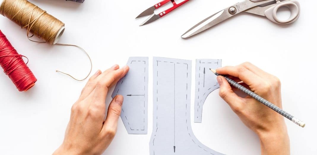 creating sewing stencils
