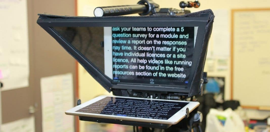 Advantages of Using a Teleprompter